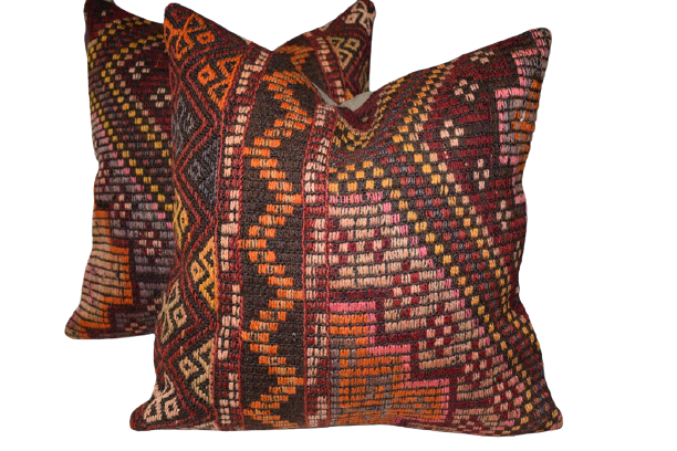 Set of Embroidered Cushion