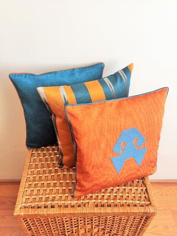 Kutnu Silk Pillows