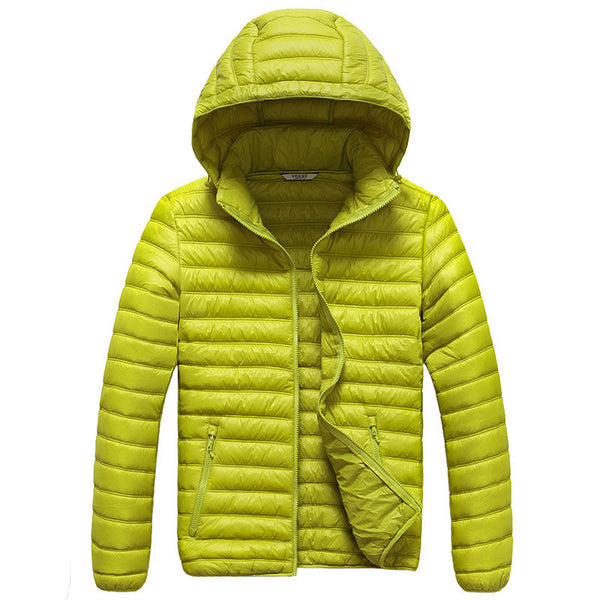 Women's Light Down Jacket for Camping or Outdoors