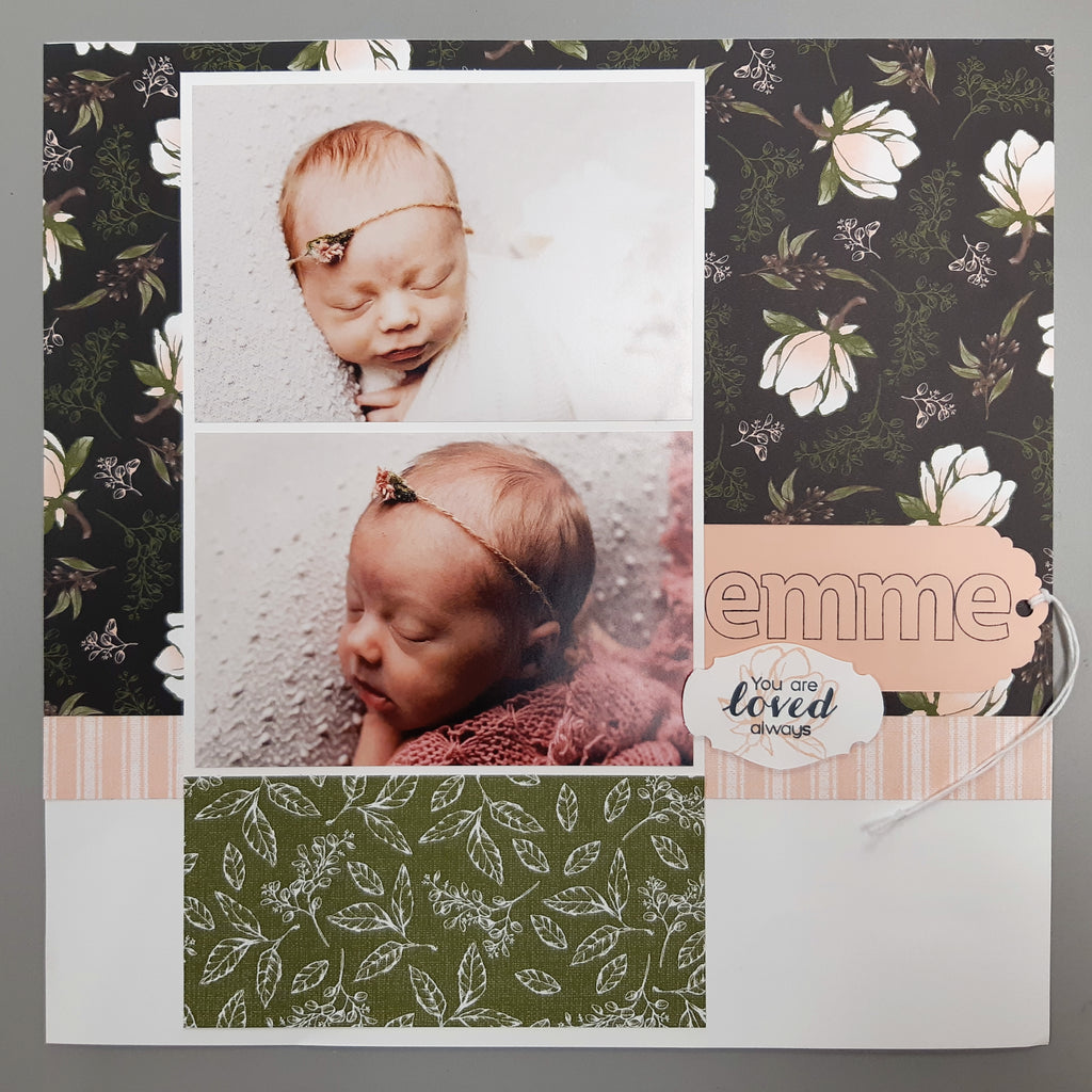 Ink & Share Scrapbook Blog Hop - Summer