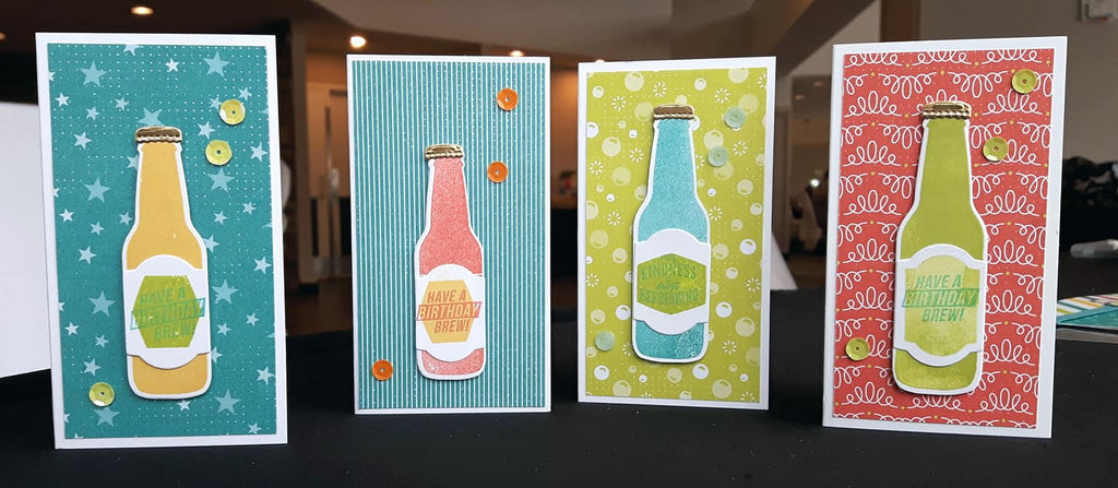 Make It Monday - with Stampin' Up!'s Bubbles & Fizz