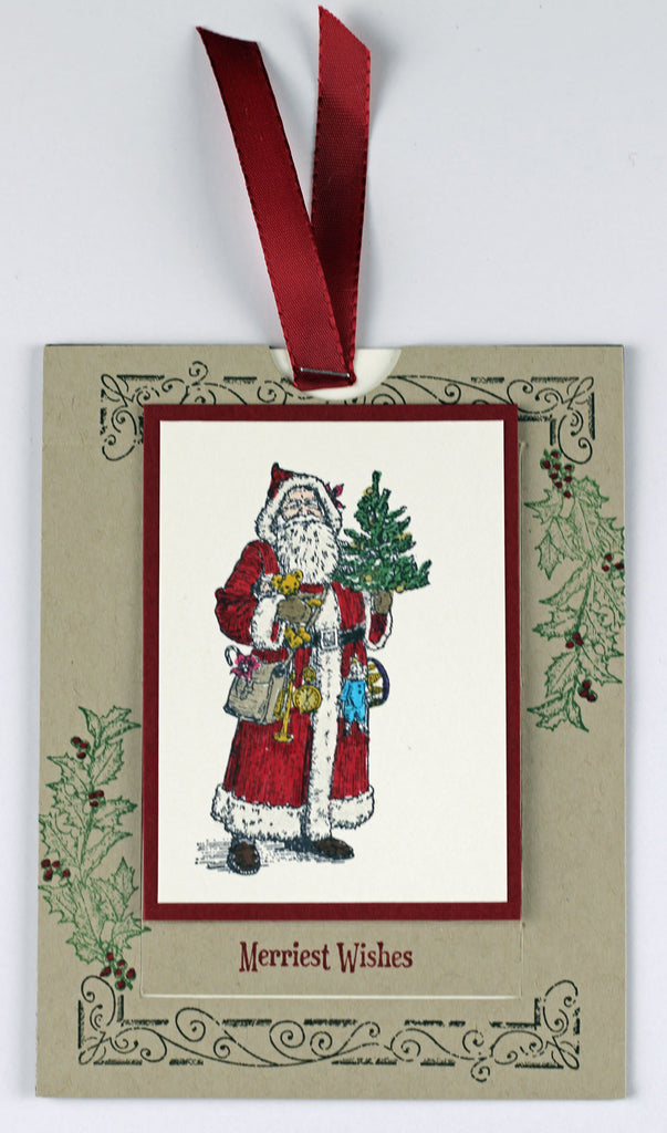 Father Christmas WOW card