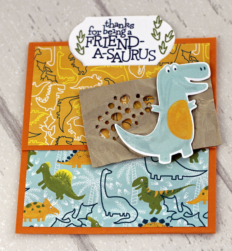 Dino Days Swap Card from Steph Van Dorp