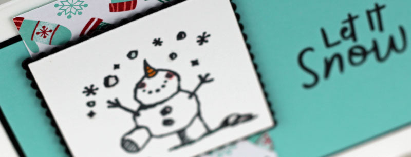 #simplestamping with Let It Snow!