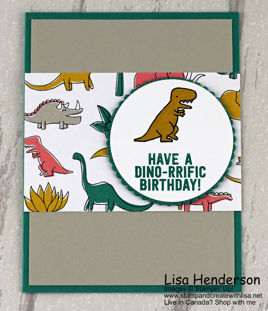 Make It Monday - And have a Dino-rrific Day!