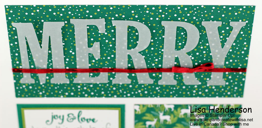Scrapbooking Global Blog Hop - Merry