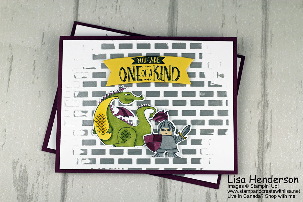 You Are One of a Kind - Kylie Bertucci's International Stampin' Up! Blog Highlights