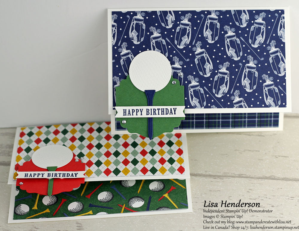 Pretty Cards and Paper International Blog Hop - Country Club Designer Series Paper