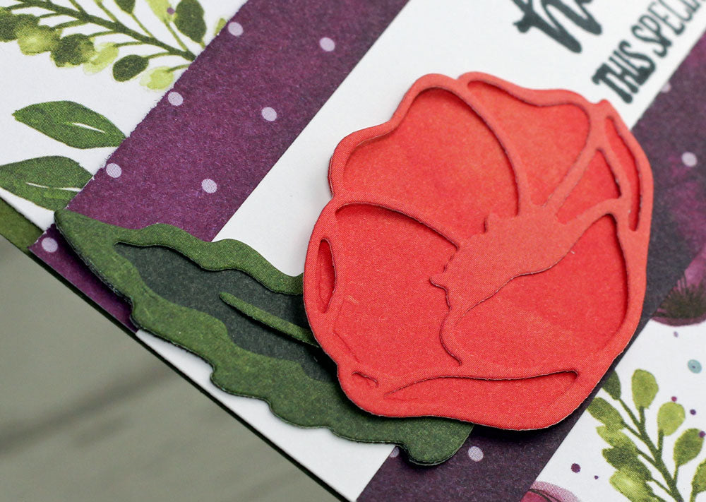 Pretty Cards & Paper International Blog Hop - Peaceful Poppies
