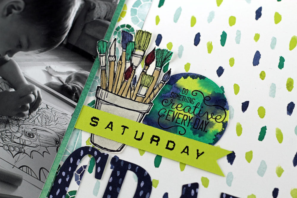 Scrapbooking Global August Blog Hop