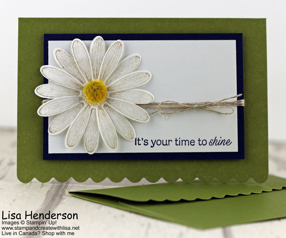 Pretty Cards and Paper International Blog Hop - Scalloped Notecards & Envelopes