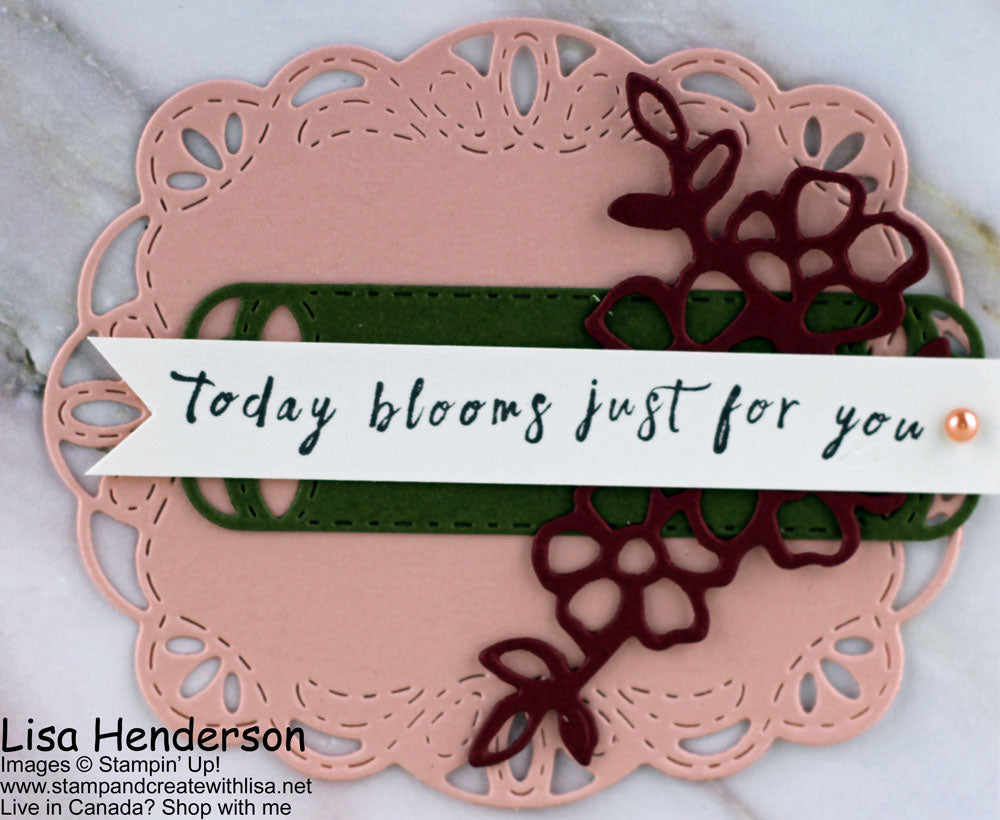 Today Blooms Just for You!