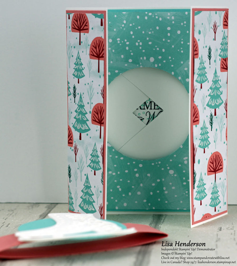 Pretty Cards & Paper International Blog Hop - Let it Snow!