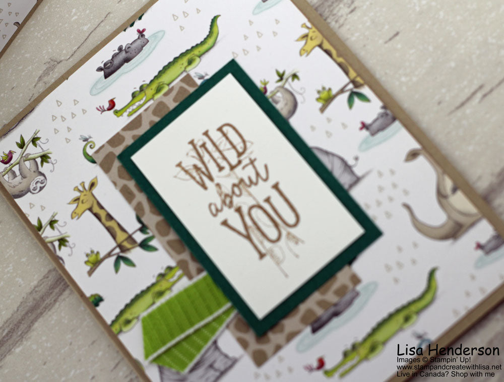 Design It with Designer Series Paper Blog Hop with Animal Expedition