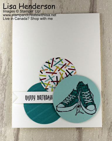 A Perfect Card For The Teen In Your Life Stamp Create With Lisa