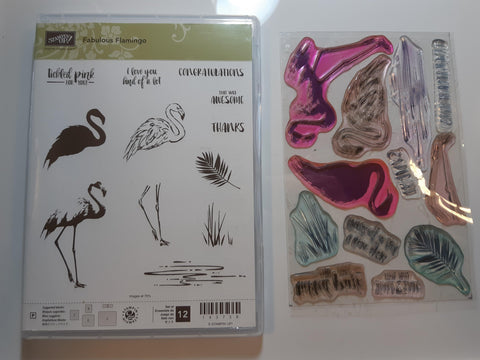 Fabulous Flamingo stamp set