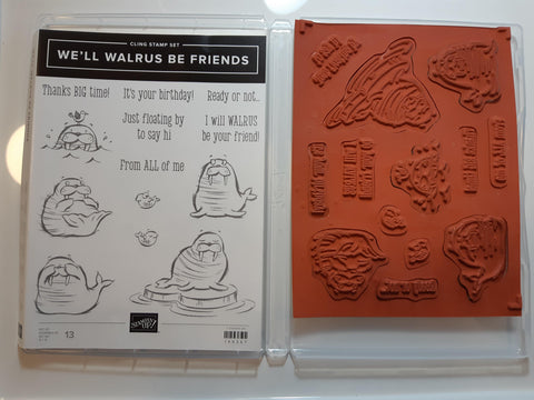 We'll Walrus Be Friends stamp set