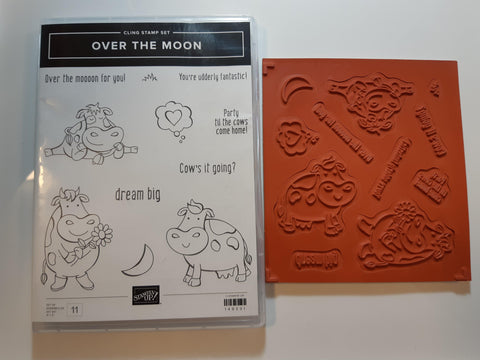 Over The Moon stamp set