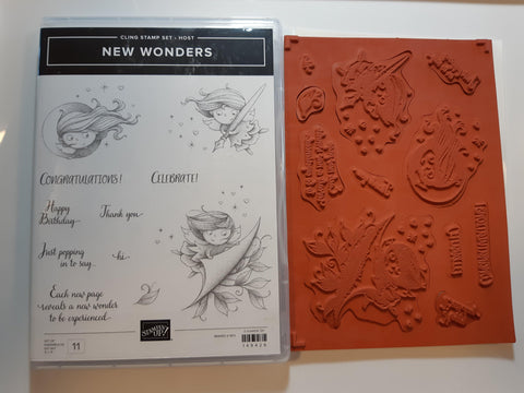 New Wonders stamp set