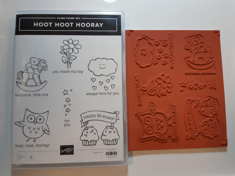 Hoot Hoot Horay stamp set