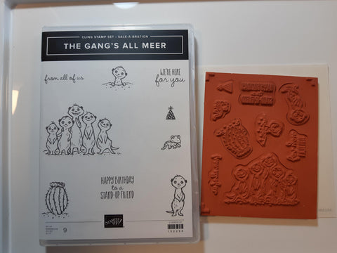 The Gang's All Meer stamp set