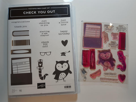 Check You Out stamp set