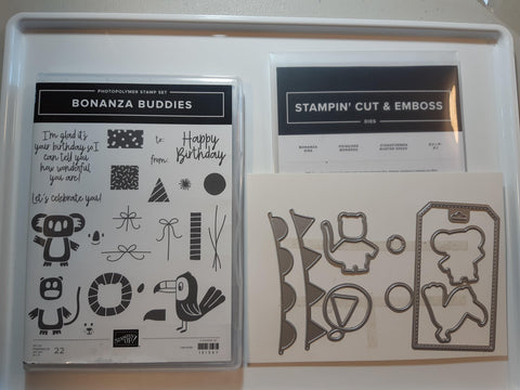 Bonanza Buddies bundle - stamp and dies
