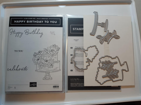 Happy Birthday To You bundle - stamp and dies