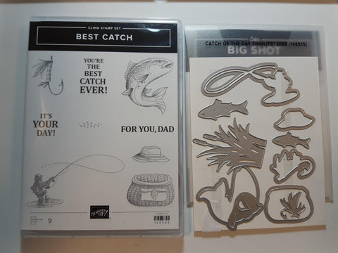 Best Catch bundle - stamp and dies