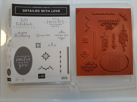 Detailed With Love stamp