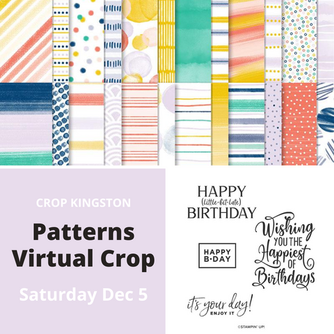 Patterns Crop To Go - .PDF & Virtual Crop Access Pass