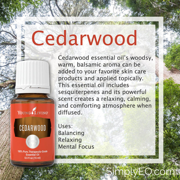 Cedarwood Essential oil 15ml