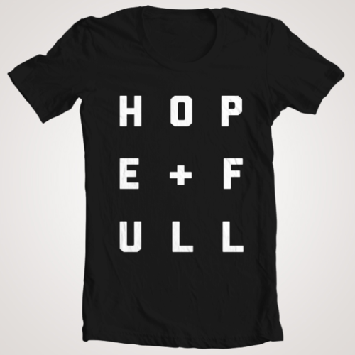 Black HOPE+FULL Shirt