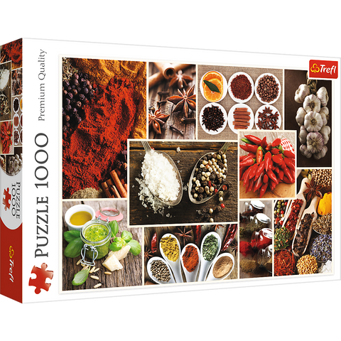 Spices - collage - Puzzlers Jordan