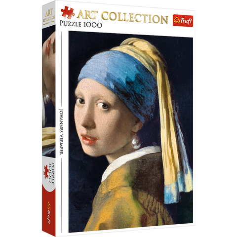 Girl with a pearl earring - Puzzlers Jordan