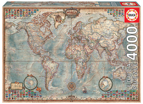 THE WORLD, EXECUTIVE MAP