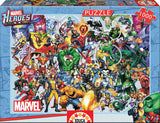 COLLAGE OF MARVEL HEROES