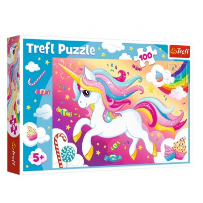 colorful unicorn - Puzzlers Jordan