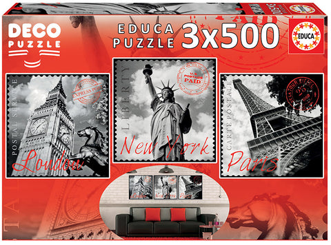 BIG CITIES DESCO PUZZLE