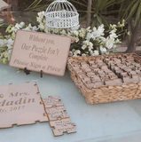 Guest Book Puzzle - Wedding puzzle
