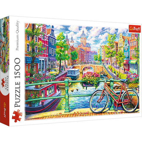 Amsterdam Canal - Puzzlers Jordan