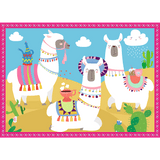 Llamas on vacation - Puzzlers Jordan