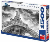 Clouds over Eiffel tower - Puzzlers Jordan