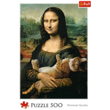 Mona Lisa and purring kitty - Puzzlers Jordan