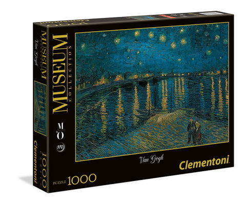 Starry night on the Rhone - Van Gogh - Puzzlers Jordan