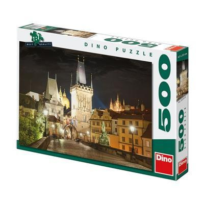 Prague At Night 500 puzzle Dino