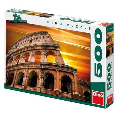 Sunset over the Colosseum - Puzzlers Jordan