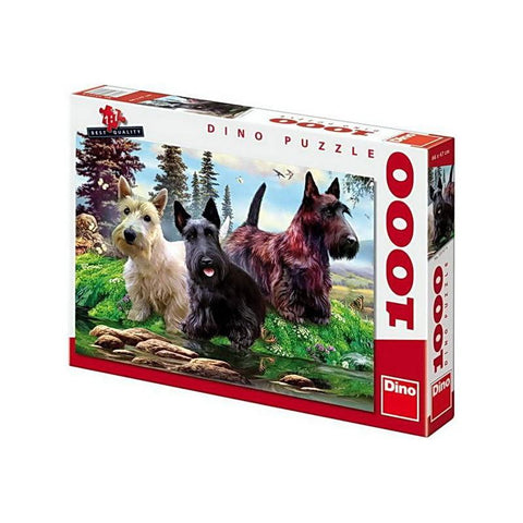 Scottish Terriers - Puzzlers Jordan