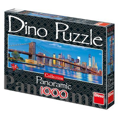 Brooklyn 1000 dino puzzle panorama