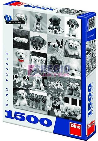 Dogs 1500 puzzle dino